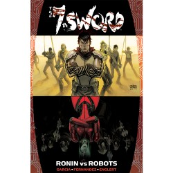 The 7th Sword TPB Signed by writer John Raffo Now available! $19.99