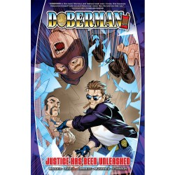 Doberman Vol. 1 TPB Signed by cover artist Bernard Chang Now available! $19.99