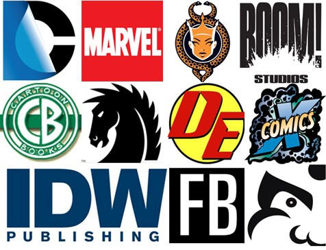 Image result for other comic book companies.